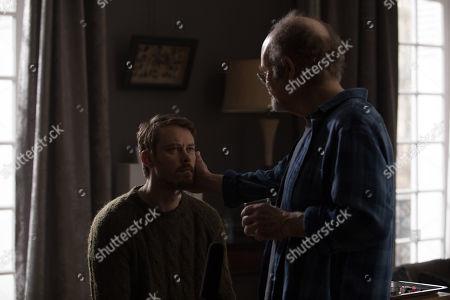 Michael Dorman as John Tavner, Kurtwood Smith as Leslie Claret