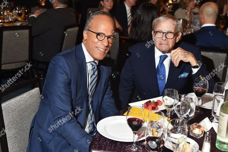 Lester Holt, Tom Brokaw