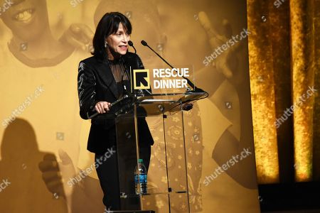 Editorial picture of International Rescue Committee's Rescue Dinner, Inside, New York, USA - 01 Nov 2018