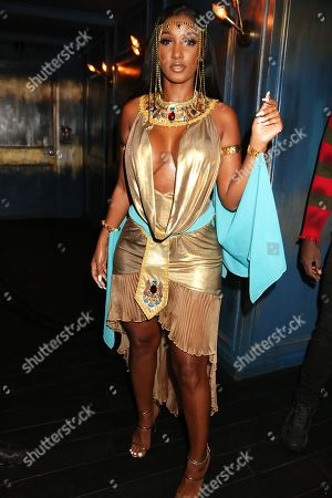 Editorial picture of Lala Anthony and Lenny S. Annual Halloween Party, New York, USA - 31 Oct 2018