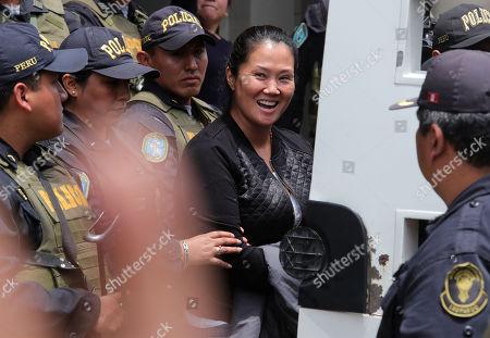 Editorial photo of Keiko Fujimori is transferred to preventive detention, Lima, Peru - 01 Nov 2018