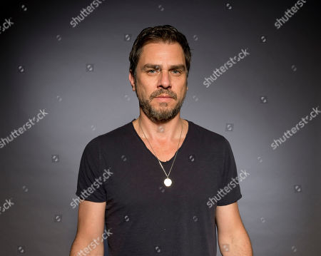 """Ariel Vromen poses for a portrait to promote his latest film """"The Angel"""" in Los Angeles, Calif"""