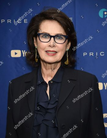 """Dayle Haddon attends a special screening of """"The Price of Free"""" at the Museum of Modern Art, in New York"""