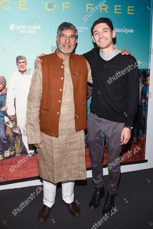 Kailash Satyarthi and Derek Doneen
