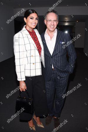 Rachel Roy and Andrew Saffir