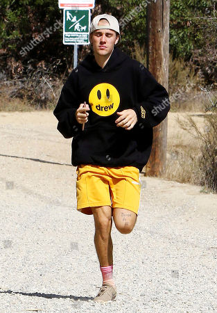 Editorial photo of Justin Bieber out and about, Los Angeles, USA - 01 Nov 2018
