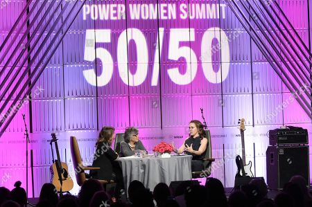 "Nicole Boxer, Barbara Boxer, Alyssa Milano. Nicole Boxer, from left, Barbara Boxer and Alyssa Milano participate in TheWrap's ""Power Women Summit"" at the InterContinental, in Los Angeles"