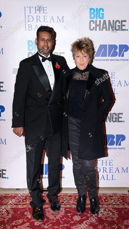 Annesley Abercorn and Katrina Leskanich