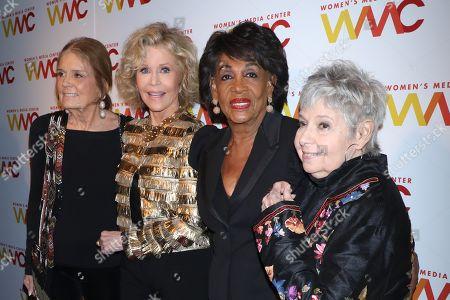 Gloria Steinem, Jane Fonda, Maxine Waters, Robin Morgan