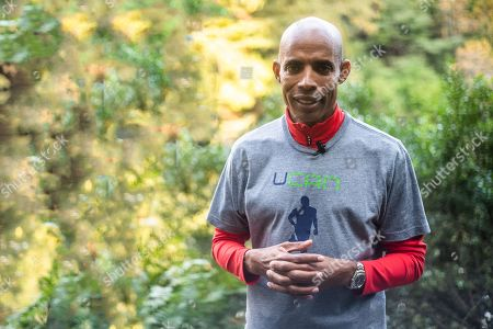 Editorial image of Meb Keflezighi out and about, New York, USA - 01 Nov 2018