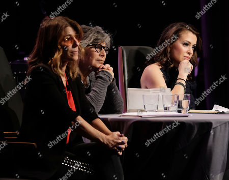 Alyssa Milano, Barbara Boxer, Nicole Boxer