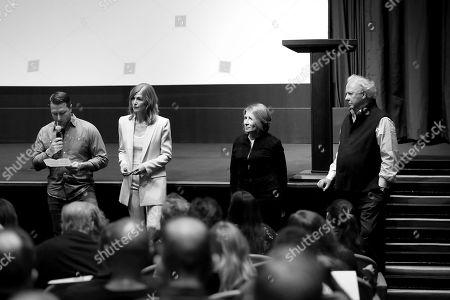 Matthew Heineman (Director), Rosamund Pike, Marie Brenner (Exec. Producer), Graydon Carter (Host)