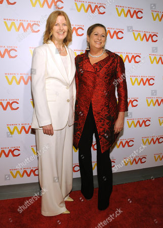 Stock Image of Julie Burton and Abigail Disney