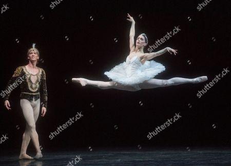 Marianela Nunez as Nikiya, Vadim Muntagirov as Solor