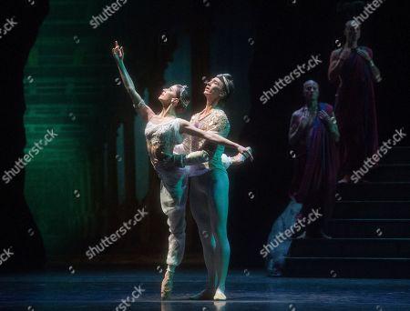 Vadim Muntagirov as Solor, Marianela Nunez as Nikiya,