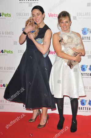 Amanda Abbington and Freya North