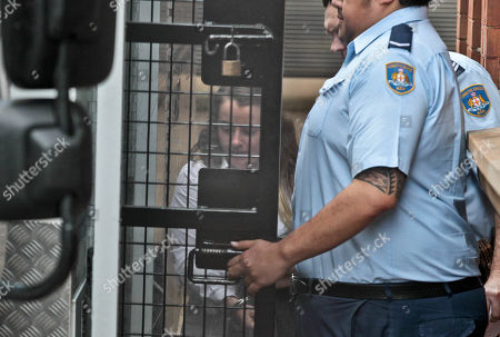 Cathrina Cahill is seen entering the prison van at the Supreme Court in Sydney, New South Wales, Australia, 02 November 2018. Cathrina Cahill, 27, an Irish national, has pleaded guilty to the manslaughter of her fiancee, David Walsh, 29, also from Ireland. Walsh, father-of-three girls, died from a neck wound sustained at the couple's home in February last year.