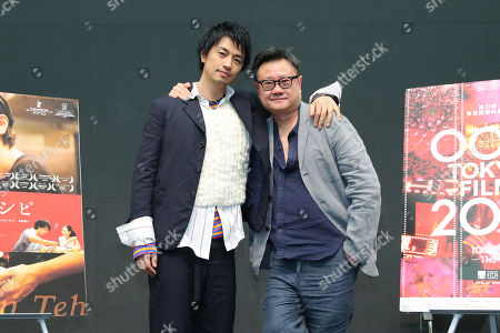 'Ramen Teh' press conference - Takumi Saito, Eric Khoo
