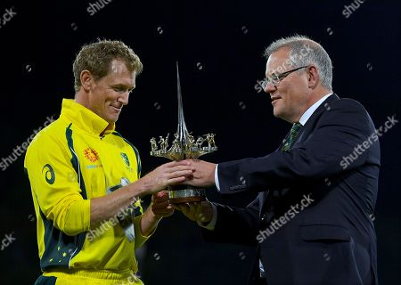 Editorial photo of Prime Minister?s XI vs South Africa, Canberra, Australia - 31 Oct 2018