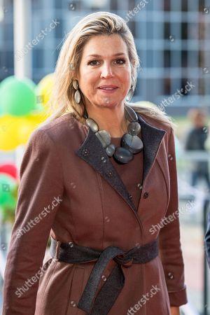 Queen Maxima visit to 113 Suicide Prevention, Amsterdam