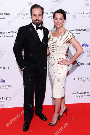 Alfie Boe and Sarah Boe