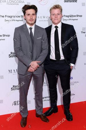 Stock Image of Brooklyn Beckham and Jack Ramsay
