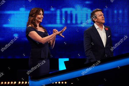 Suzi Perry and Bradley Walsh