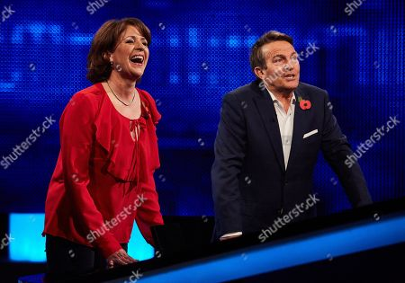 Rosemarie Ford and Bradley Walsh