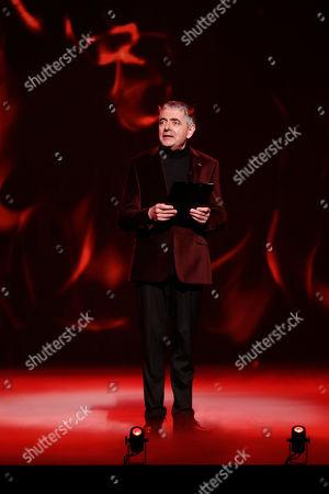 Stock Photo of Rowan Atkinson.