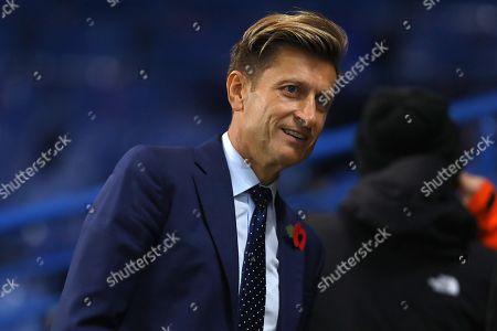 Crystal Palace chairman, Steve Parish - Chelsea v Crystal Palace, Premier League, Stamford Bridge, London - 4th November 2018