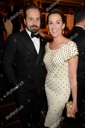 Stock Image of Alfie Boe and Sarah Boe