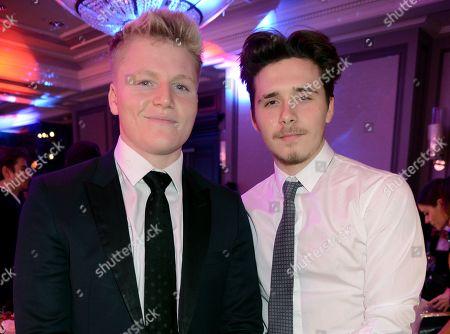 Jack Ramsay and Brooklyn Beckham