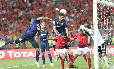 Editorial photo of Al Ahly vs  ES Tunis, Alexandria, Egypt - 02 Nov 2018