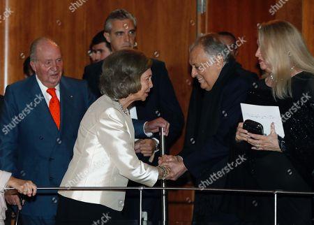 Editorial image of Spain's Emeritus Queen Sofia turns 80, Madrid - 02 Nov 2018