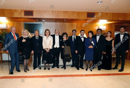 Editorial picture of Spain's Emeritus Queen Sofia turns 80, Madrid - 02 Nov 2018