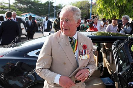 Prince Charles and Camilla Duchess of Cornwall tour of Ghana, Day 1