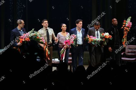 Christopher Demos-Brown, Jeremy Jordan, Kerry Washington, Steven Pasquale, Eugene Lee, Kenny Leon