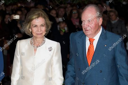 80th birthday of Queen Sofia, Madrid