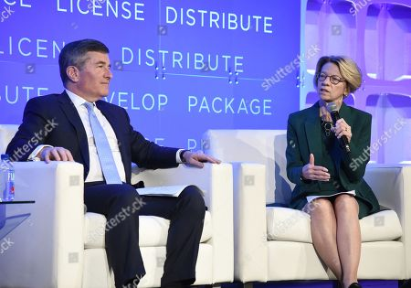 Editorial picture of American Film Market, Day 3, Los Angeles, USA - 02 Nov 2018