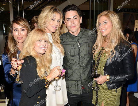 Kelly Dodd, Brandi Glanville, Tom Sandoval, and Gina Kirschenhei