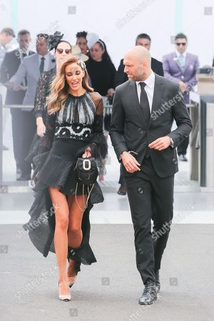 Stock Photo of Chris Judd and Rebecca Judd