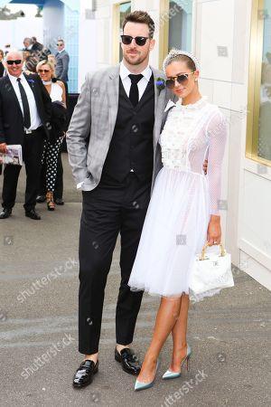 James Magnussen and partner Rose McEvoy