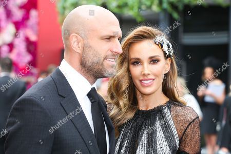 Chris Judd and Rebecca Judd