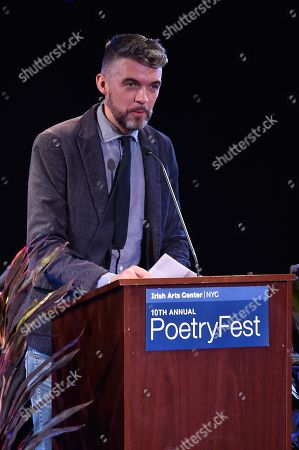 Editorial image of Irish Arts Center's PoetryFest, New York, USA - 02 Nov 2018