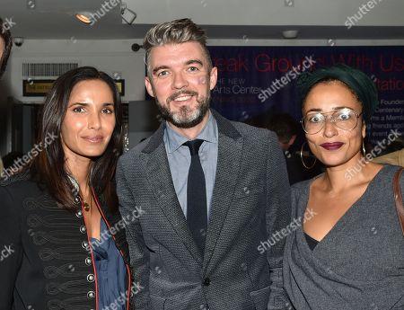 Padma Lakshmi, Nick Laird and Zadie Smith