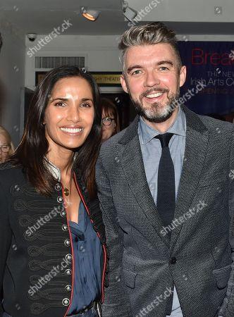 Padma Lakshmi and Nick Laird
