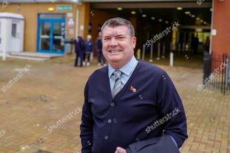 Reading Football Club CEO Ron Gourlay arriving for the EFL Sky Bet Championship match between Reading and Bristol City at the Madejski Stadium, Reading