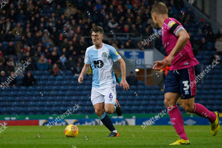 Blackburn Rovers Richard Smallwood during the EFL Sky Bet Championship match between Blackburn Rovers and Queens Park Rangers at Ewood Park, Blackburn