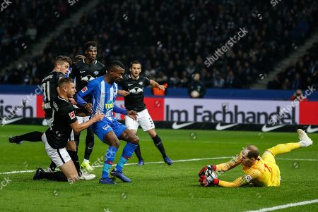 Editorial picture of Hertha BSC vs RB Leipizg, Berlin, Germany - 03 Nov 2018