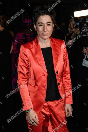 German journalist Dunja Hayali arrives for the 25th Grand Opera Gala of the German Aids Foundation in Berlin, Germany, 03 November 2018. The gala is one of the most important charity events to be hosted in the German capital.